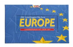 1998 50p Europe Brilliant Uncirculated Pack for sale